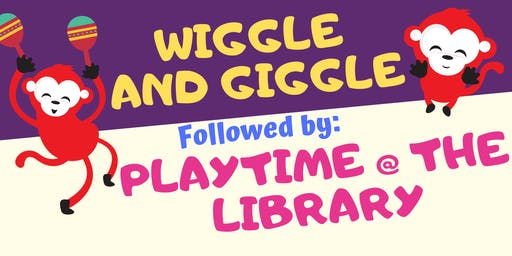 Term 3 Wiggle and Giggle Plus Playtime @ The Kapunda Library