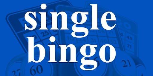 SINGLE BINGO MONDAY DECEMBER 16, 2019