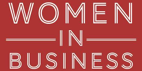 Women in Business - 21 August 2019 tickets