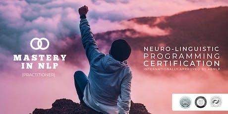 Mastery In NLP (Triple Certification) tickets