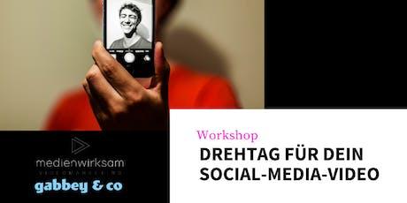 Video-Workshop: Drehtag für dein erfolgreiches Social-Media-Video Tickets