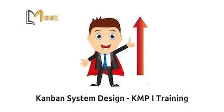 Kanban System Design – KMP I_  2 Days Virtual Live Training in Waterloo tickets