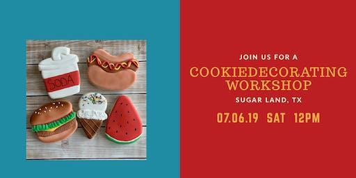 cookieDecorating Workshop