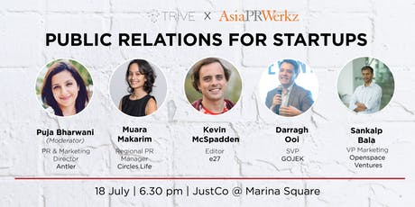 Fireside Chat: Public Relations for Start-ups tickets