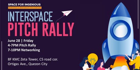 Interspace Pitch Rally | Pitching Competition and Networking tickets