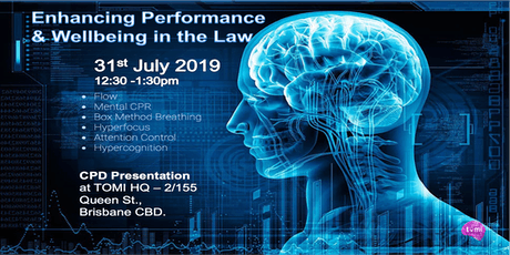 Enhancing Performance & Wellbeing in the Law tickets