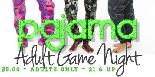 "Pajama ""Jammy Jam"" Game Night"