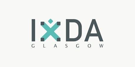 IxDA Glasgow - Interaction Design Association Monthly Meetup | September tickets