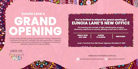 Eunoia Lane Grand Opening tickets