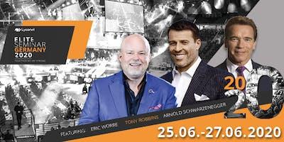 Elite Seminar 2020 mit TONY ROBBINS & ARNOLD SCHWARZENEGGER