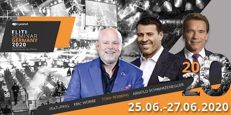 Elite Seminar 2020 mit TONY ROBBINS & ARNOLD SCHWARZENEGGER Tickets