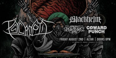 PSYCROPTIC w/ Blackhelm, The Absolution Sequence, Coward Punch