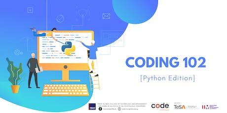 Coding 102 Workshop (Beginner-Friendly!) tickets