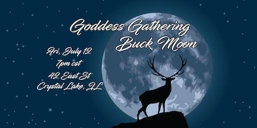Goddess Gathering Buck Moon