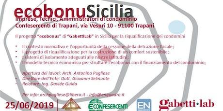 Ecobonus Sicilia biglietti