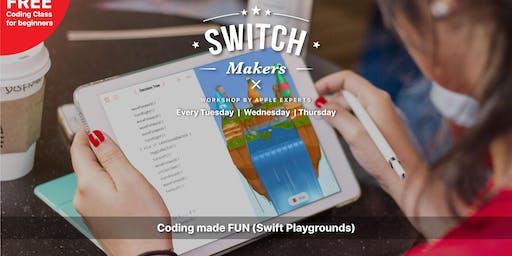 Coding made FUN [Swift Playgrounds] - Kedah (Aman Central Mall)