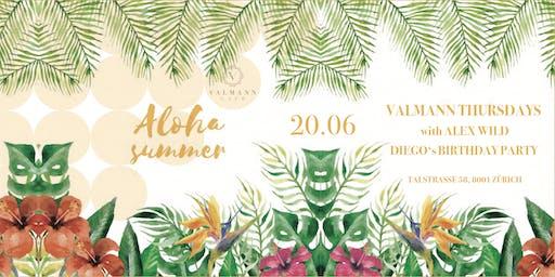 VALMANN Thursdays w/ ALEX WILD