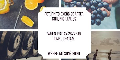 Return to exercise after chronic illness tickets