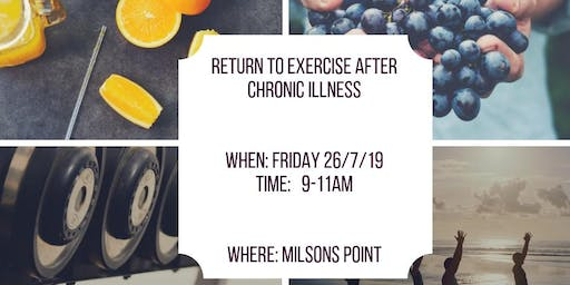 Return to exercise after chronic illness