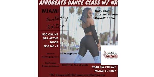 Afrobeats Dance Class W/ Nk - MIAMI