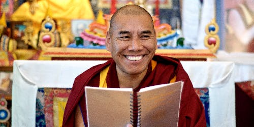 Meditation with Geshe Tharchin