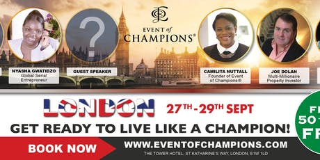 Event of Champions® London tickets