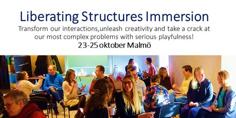 Liberating structures Immersion tickets