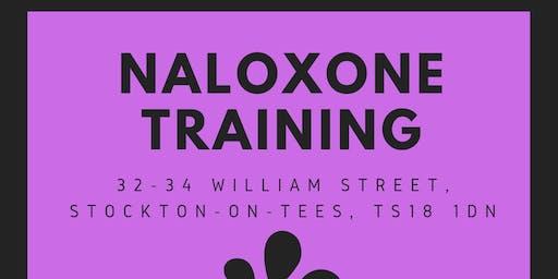 Naloxone training for professionals