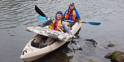 Bells Creek Clean Up (Incl. Paddle Against Plastic) - By Chimu Adventures