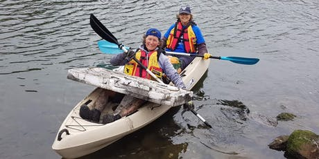 Bells Creek Clean Up (Incl. Paddle Against Plastic) - By Chimu Adventures tickets