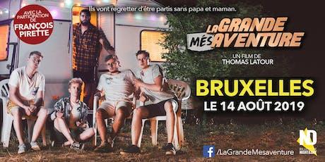 LA GRANDE MÉSAVENTURE - Projection Bruxelles billets