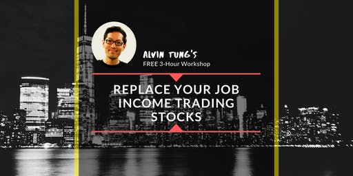 Replace Your Job Income Trading Stocks in Simple Steps