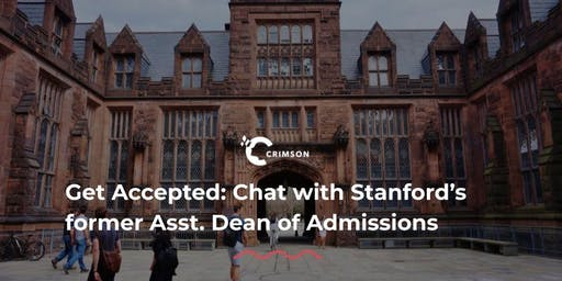 Get Accepted: Chat with Stanford's former Asst. Dean of Admissions(Bangkok)