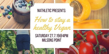 How to be a healthy Vegan tickets