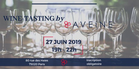 Wine Tasting by Aveine billets