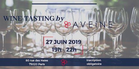 Wine Tasting by Aveine tickets