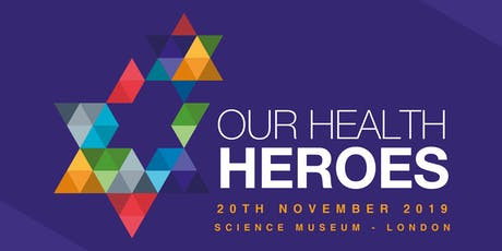 Tickets for Our Health Heroes awards 2019 tickets