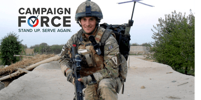 Johnny Mercer MP-(London event)-'Stood Up, Served Again' - CampaignForce Inspiring Speaker Series