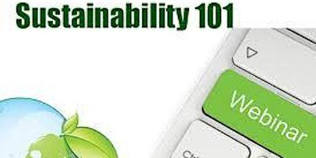 Sustainability Webinar tickets