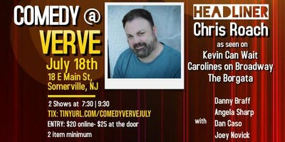 Comedy at Verve on July 18th