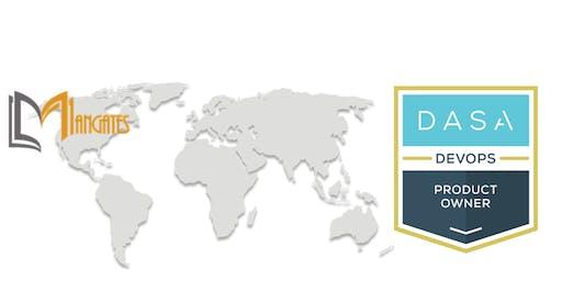 DASA – DevOps Product Owner 2 Days Virtual Live Training in Brampton, ON