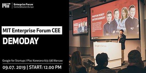 MIT Enterprise Forum CEE - DemoDay-dinner