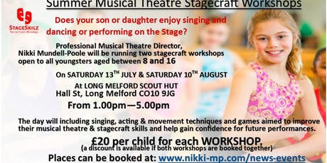 Musical Theatre Stagecraft Workshop tickets