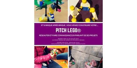 """Dîner réseau breton spécial """"Pitch Lego®"""" billets"""