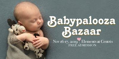 Babypalooza Bazaar - Nov 2019