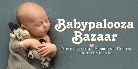 Babypalooza Bazaar - Nov 2019 tickets
