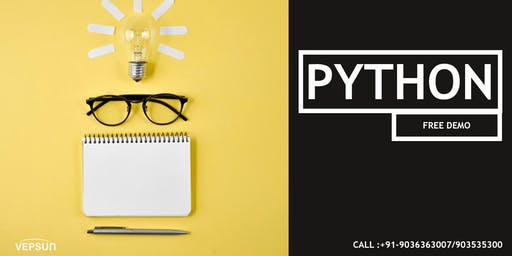 Python Training In  Bangalore by Expert Trainer