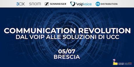 Communication Revolution: dal VoIP alle soluzioni di UCC - Brescia biglietti