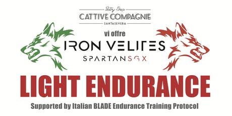IRON VELITES LIGHT ENDURANCE supported by ETP biglietti