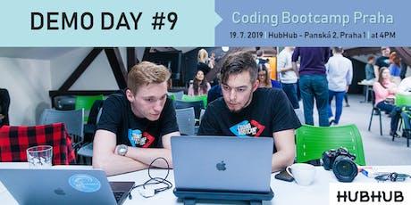 Demo Day #9 - Coding Bootcamp Praha tickets